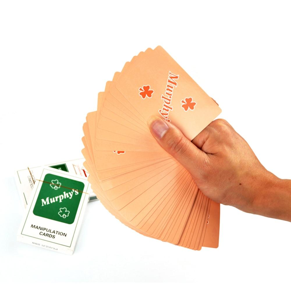 Manipulation Cards Thin Poker Magic Tricks Thin Card Tricks Magic Props For Magician Stage Magic Accessory недорого