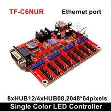 LongGreat TF-C6NUR(TF-C5NUR) Display A LED Carta di Controllo Con RJ45 & Driver USB e RS232 Porte