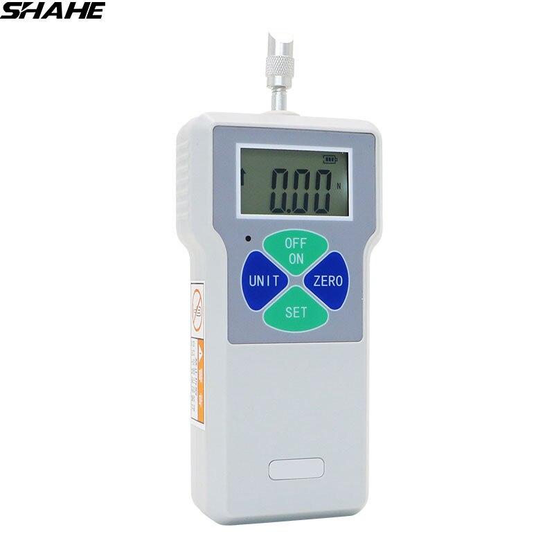 SHAHE 100N/200N /300N/500N الرقمية دفع سحب عداد القوة مقياس الدينامومتر المحمولة