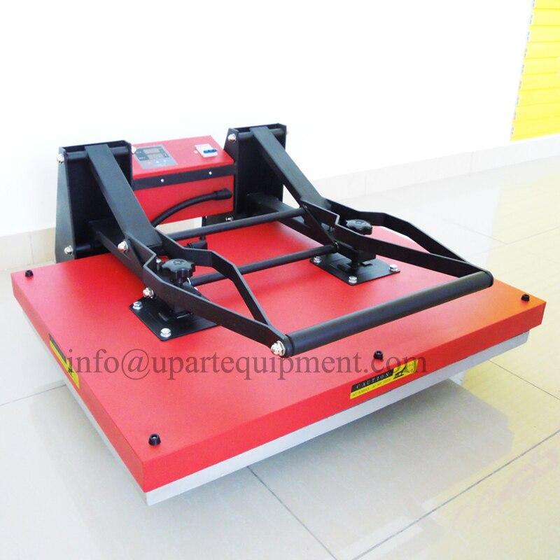 Máquina de impresión de camisetas de prensa térmica de tamaño grande de 24x32 pulgadas