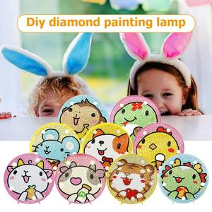 27 Styles DIY LED Diamond Painting Cute Cartoon Creative Full Special Shaped Drill Light for Drop shipping