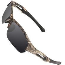 2018 nuevo Camo gafas polarizadas Polaroid reducir el deslumbramiento gafas de sol TR90 de moda para conducir, para pescar caza senderismo Camping gafas