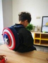 Le sac à dos Avengers captain America à bouclier rigide sac détudiant cadeau pour enfants Agents du S.H.I.E.L.D. pour garçons et filles