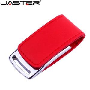 USB-флеш-накопитель JASTER в форме металлического кожаного корпуса, 4-64 Гб