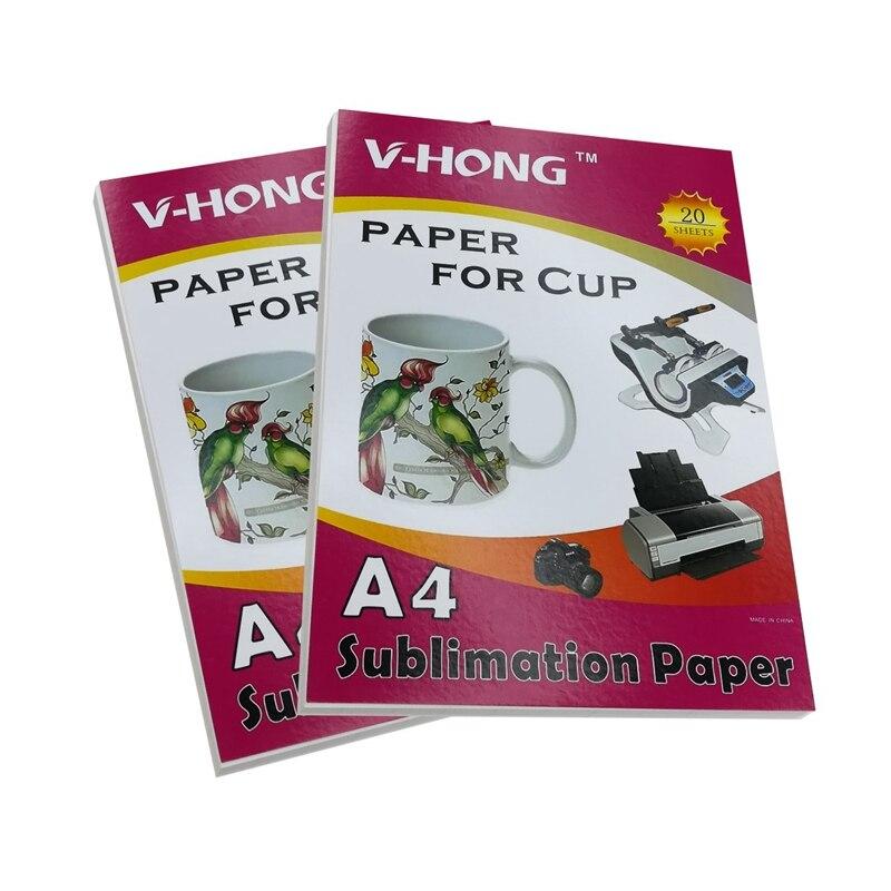 A4 A3 inkjet drucker transfer papier modal Polyester stoff keramik Glas Jigsaw puzzle Maus pad knapsack sublimation papier