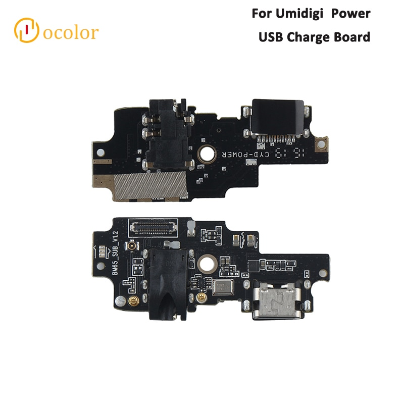 Farbe Für Umidigi Power USB Ladung Bord Neue Ersatz Teile Für Umidigi Power USB Stecker Lade Bord Telefon Zubehör