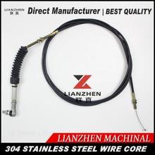 Excavator parts E307 throttle control cable motor direct manufacturer