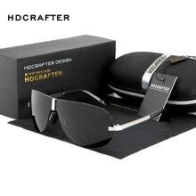 HDCRAFTER lunettes de soleil de styliste hommes   Lunettes de soleil de conduite polarisées 2018 pour hommes, accessoires Cool oculos de sol masculino