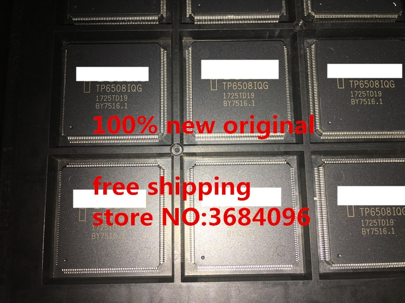 TP6508IQG TP6508IQ TP6508 TP6508QTDG TP6508QG TP6508Q QFP208 100% original nuevo envío gratis 1 piezas-100 piezas/lote