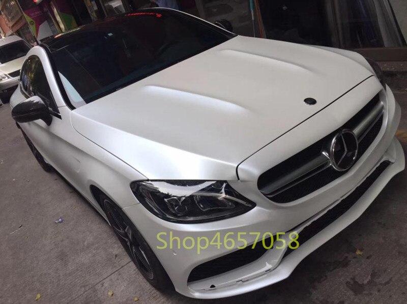 Alta Qualidade 1.52x18 m Metal Flash Cetim Filme Metálico Branco Car Wrapping Vinil Adesivo de Vinil PVC com Baixo folha de Rolo