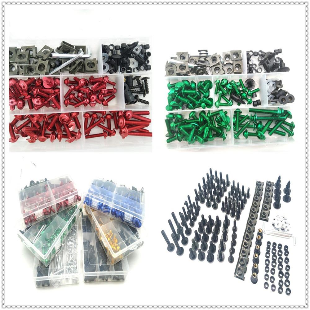 Kit de tornillos de carenado de chasis para motocicleta, Tuercas de tornillo para YAMAHA MT-03 MT-25 FAZER600 FZ6S FZ6N FZ6R YBR 125