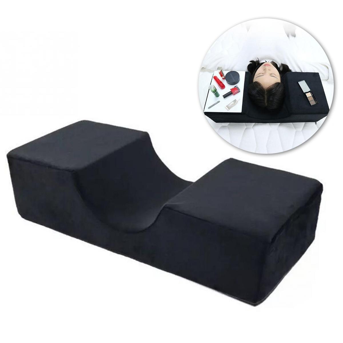 Extensiones de almohada de pestañas profesionales Nosii, franela especial para uso en salón, soporte de belleza de memoria, injertado para extensión de pestañas, reposacabezas