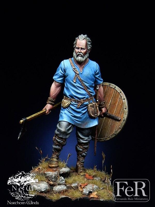 DIY, 1/32 personajes de resina, Irish vikingo Invaders, historia del juego de la película R05