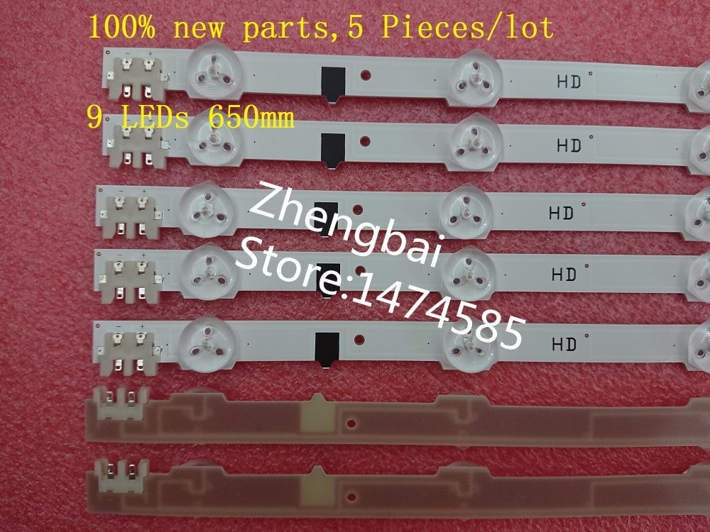 5 шт. 9LED светодиодная подсветка D2GE-320SC0-R3 2013SVS32H для samsung UE32F4510 UA32F4088AR UE32F4510AK CY-HF320AGEV3H UE32F5000