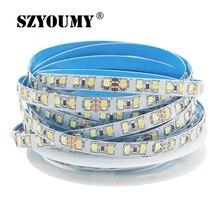 SZYOUMY DC12V double bande LED blanche 2835 SMD 120 LED/m WW/CW CCT LED bande couleur température réglable bande