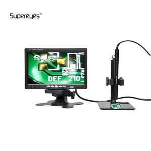 Supereyes B003A 1-200X Zoom AV Microscope Handheld Endoscope