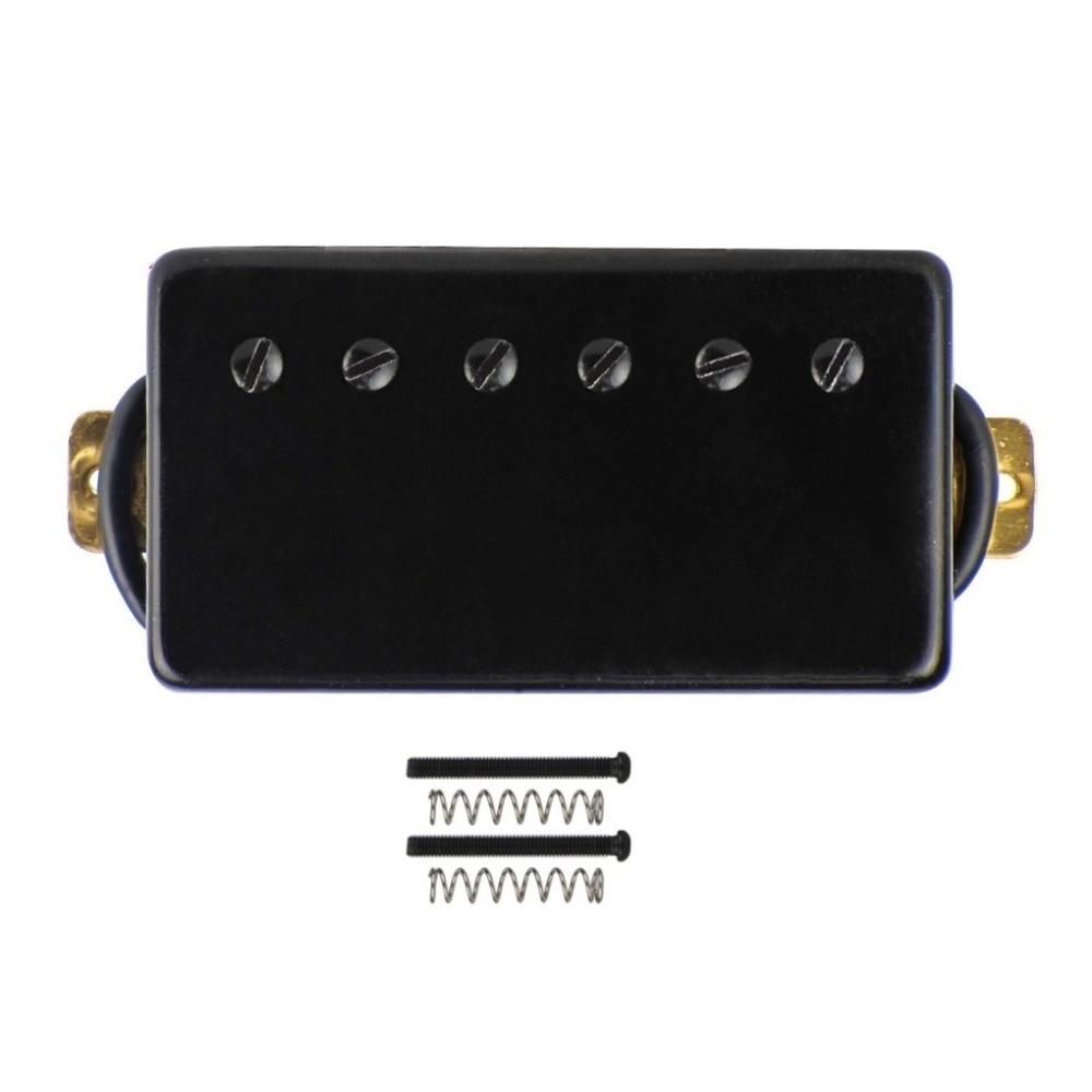 Nueva guitarra eléctrica Humbucker Pickup doble bobina Pickup cuello negro cerámica para LP SG estilo guitarra eléctrica