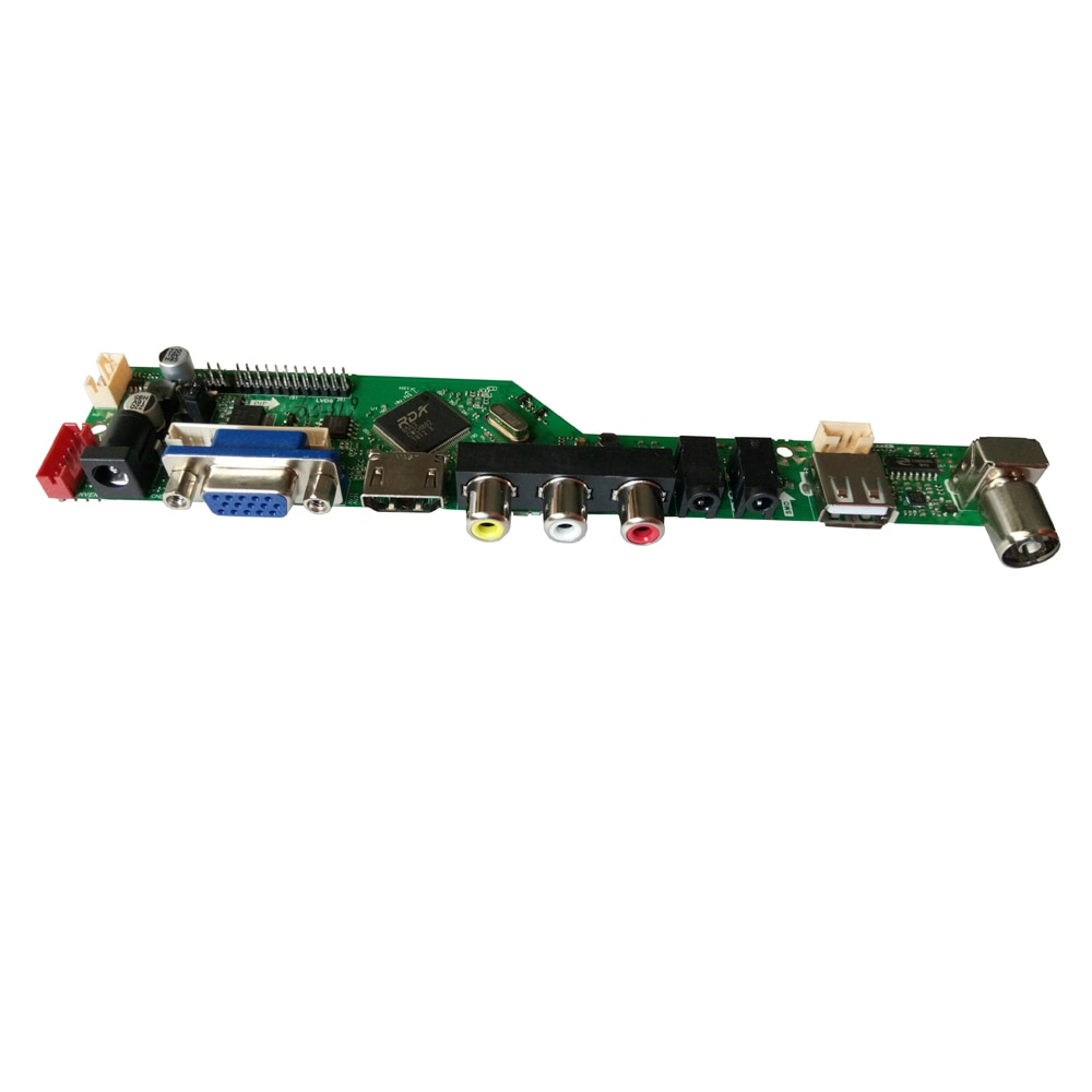 T.V56.031 For LP154W01 N154I2-L02 HDMI USB AV VGA ATV PC LCD Controller Board for 15.4inch 1280x800 CCFL LVDS Monitor Kit