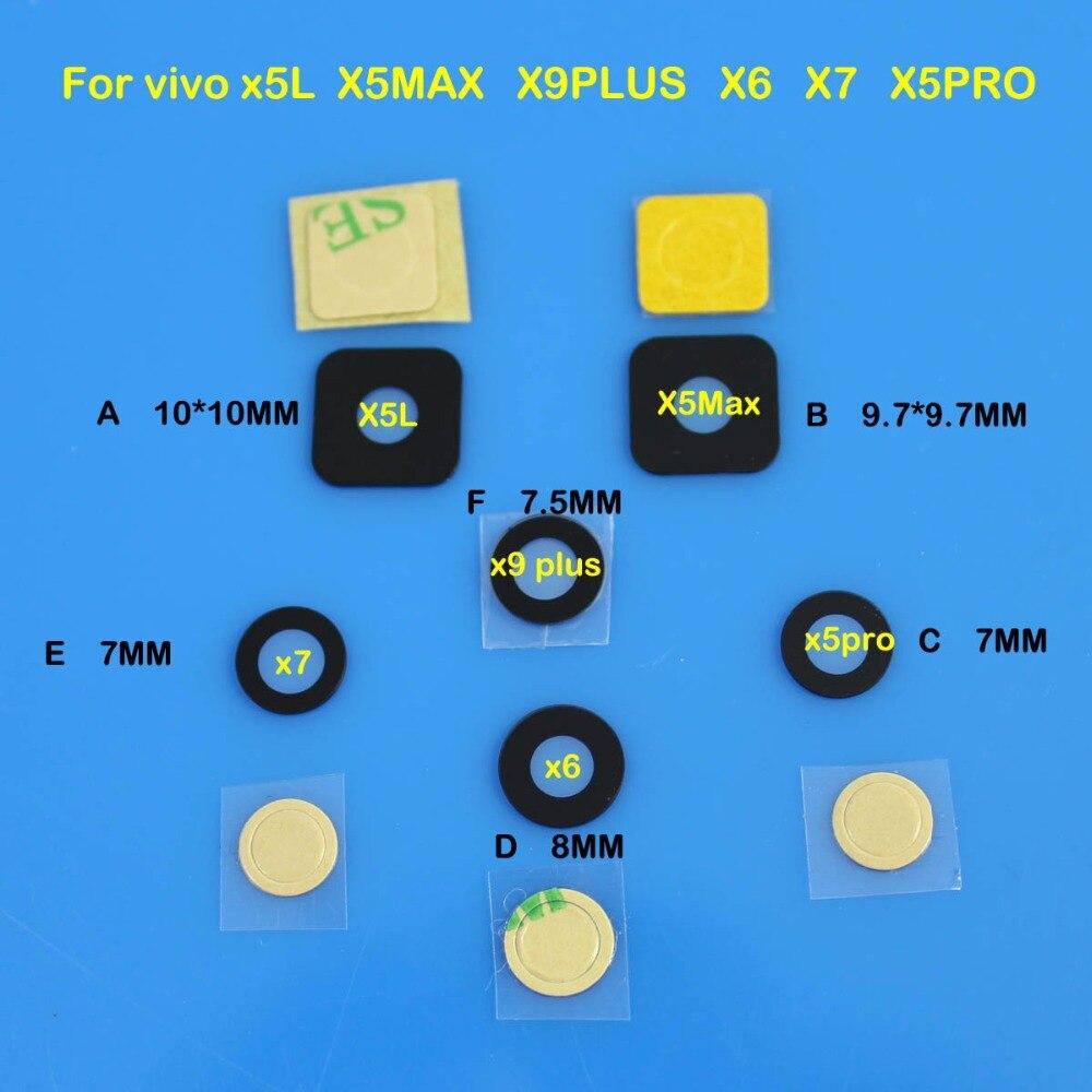 Cltgxdd Für vivo x5L X5MAX X9PLUS X6 X7 X5PRO Kamera Glaslinse Abdeckung mit Klebstoff Aufkleber Ersatz Reparatur