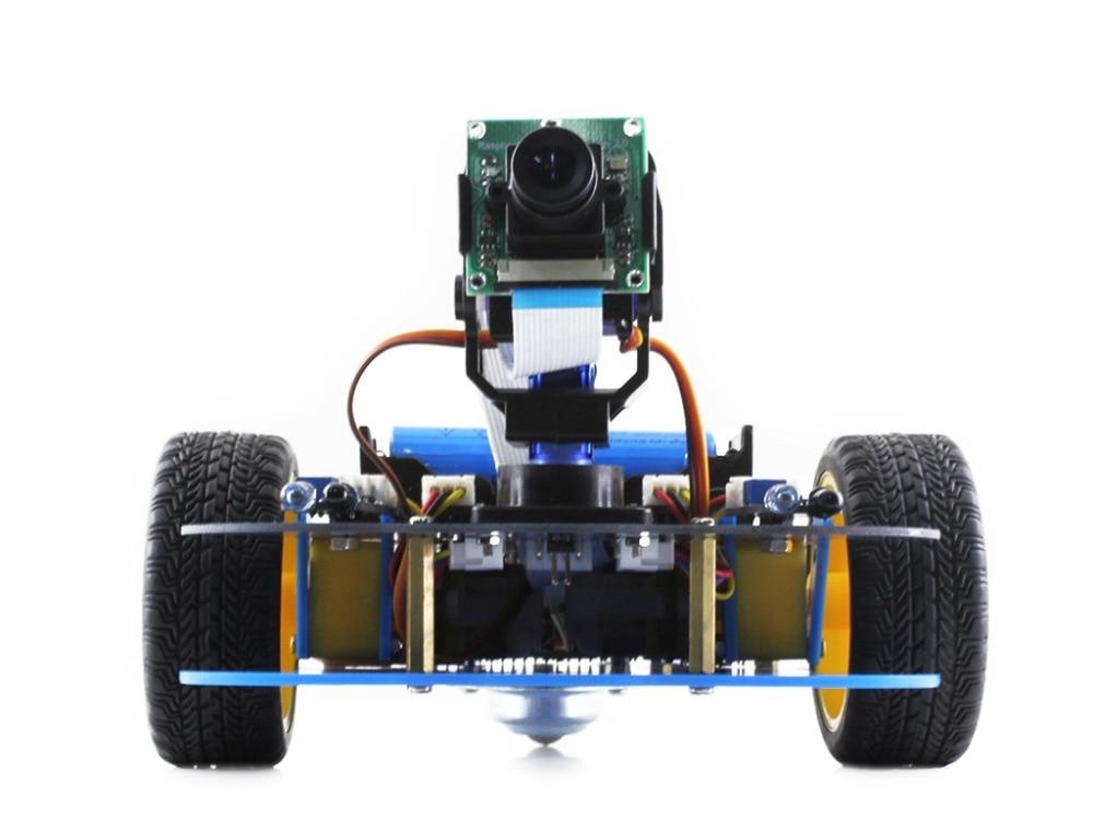 Waveshare AlphaBot робот строительный комплект для Raspberry Pi поставляется с адаптером питания штепсельной вилки европейского стандарта