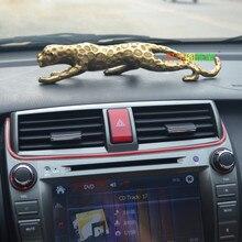 Fournitures de décoration de voiture en cuivre léopard   Fournitures de voiture de sécurité