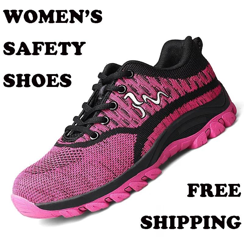 Chaussures indestructibles pour hommes et femmes, baskets de sécurité respirantes avec tête en acier, Anti-perforation, livraison directe