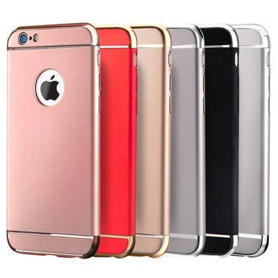 Funda para Apple iphone 5s SE 6 6s 7 8 Plus X carcasa para iphone 6plating 3 en 1 funda protectora 6plus frosted tide macho shell