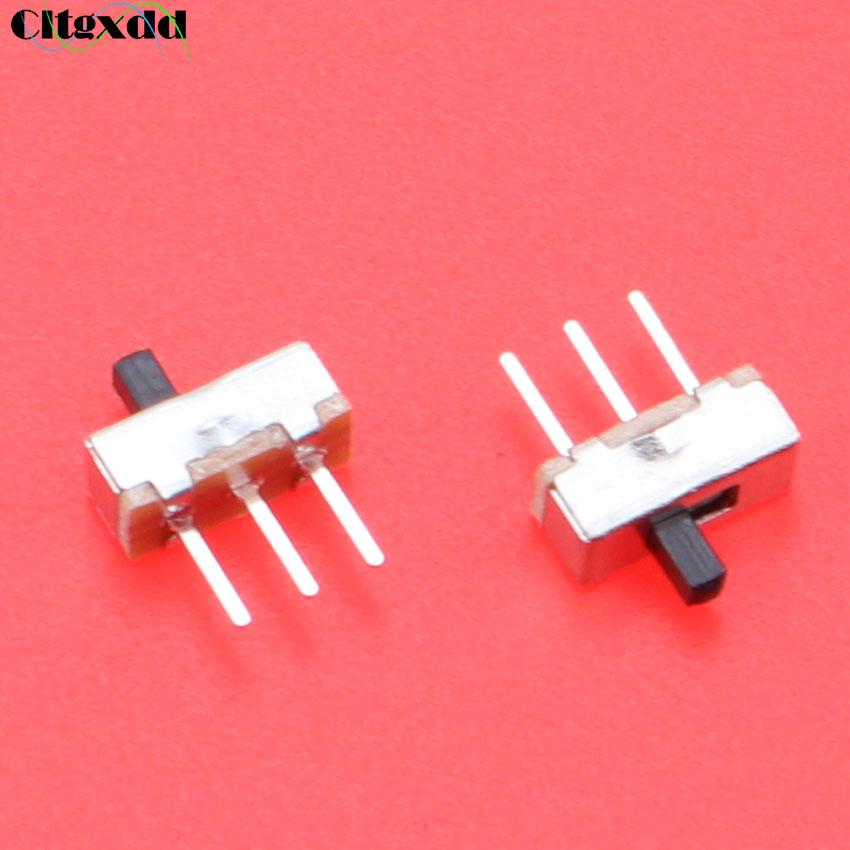 Cltgxdd-Interruptor de palanca SS12D00G3, Interruptor de 2 posiciones SPDT 1P2T, Panel PCB...