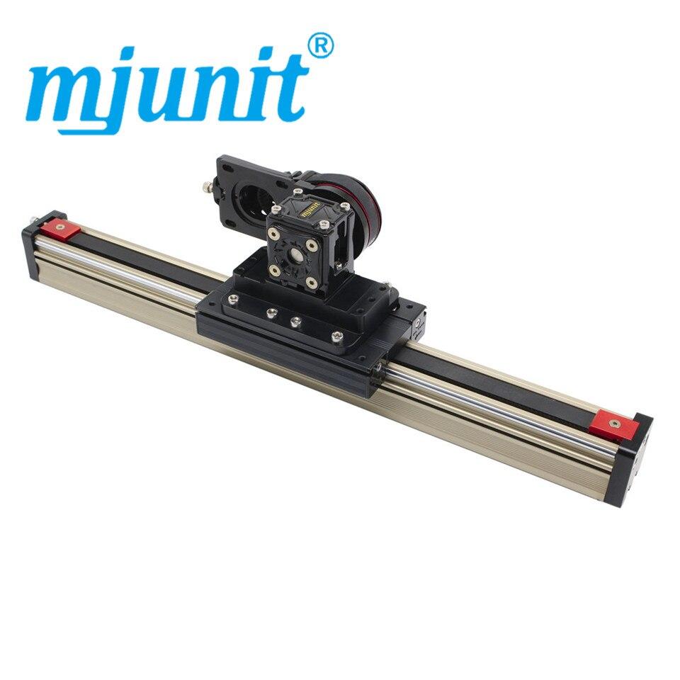 Mjunit-دليل خطي مع طاولة منزلقة ، آلة رش ميكانيكية أوتوماتيكية ، كرتون تصوير متزامن صناعي ، 45 م