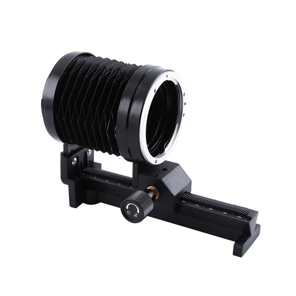 Для Canon для EOS EF Mount Focus Camera Macro Bellows Lens Tripod Mount Extension Bellows