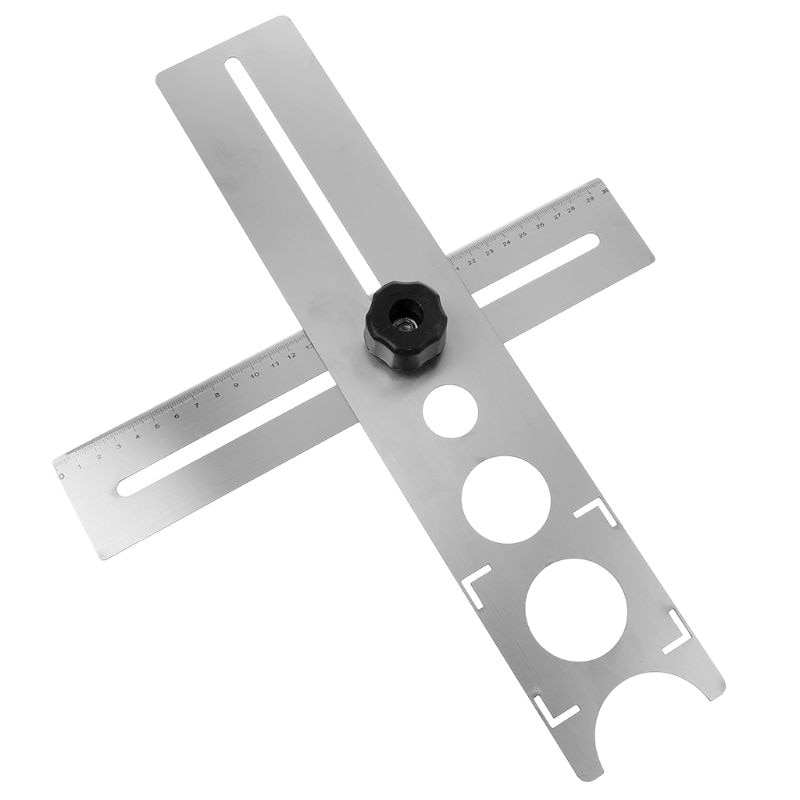 Multi-funcional de localizador perforadora Tapper ajustable colocación decoración accesorio herramienta de diseño para la construcción