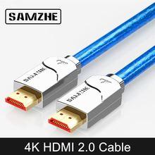 SAMZHE 4K UHD HDMI Kabel Hohe Auflösung Digital Kabel 3840*2160 HDMI für Laptop und TV Box Verbinden zu Großen Bildschirm Displayer