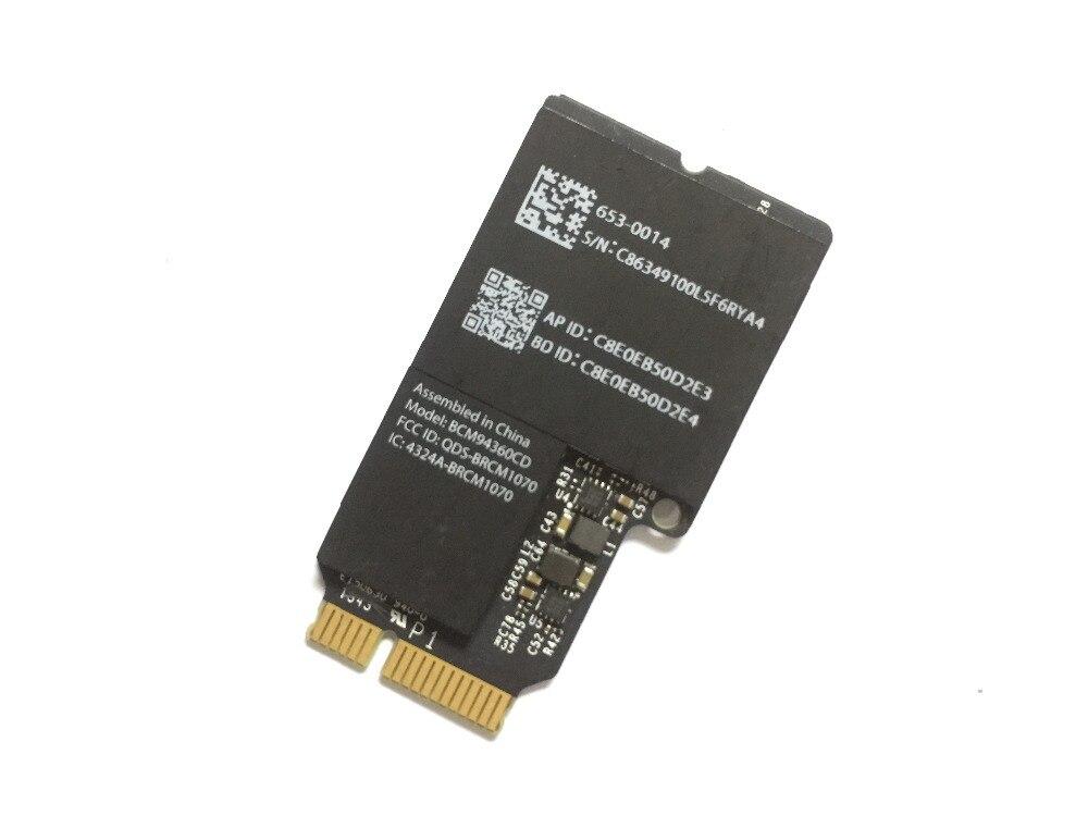 بروأدكم wifi wlan بلوتوث bt 4.0 بطاقة BCM94360CD BCM4360CD 802.11ac A1418 A1419 635-0014