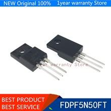 100% new imported original FDPF5N50FT TO-220 FET MOSFET 5A 500V