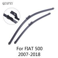 QZAPXY Wiper Blades for FIAT 500 / 500C / 500L / 500X 2007 2008 2009 2010 2011 2012 2013 2014 2015 2016 2017 2018