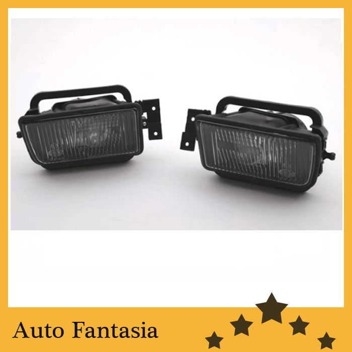 Luz antiniebla frontal lente de humo áspero (tipo Reflector)-Para BMW serie 5 E34 1988-1995