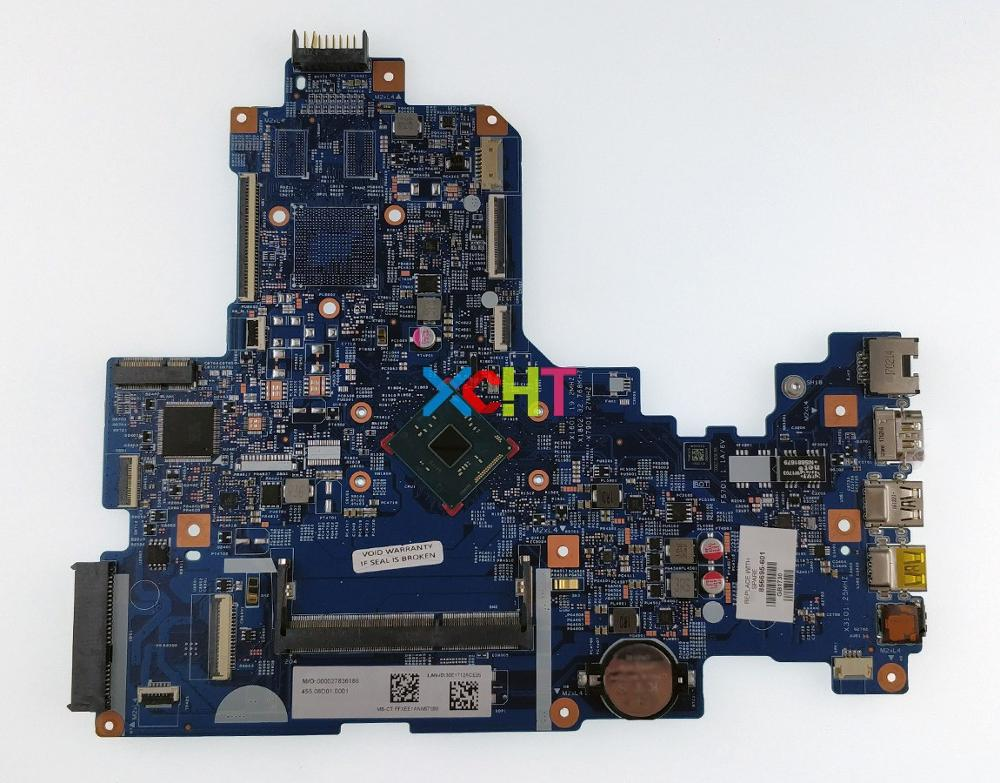 for HP NoteBook 17 17-X 17T-X000 Series 856695-601 856695-001 448.08D01.0011 UMA w N3060 CPU Laptop Motherboard Mainboard Tested