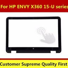 "Original nuevo envío gratis 15,6 ""para HP ENVY X360 15-U110dx 15-U111dx pantalla táctil de cristal digitalizador V1 V.1"