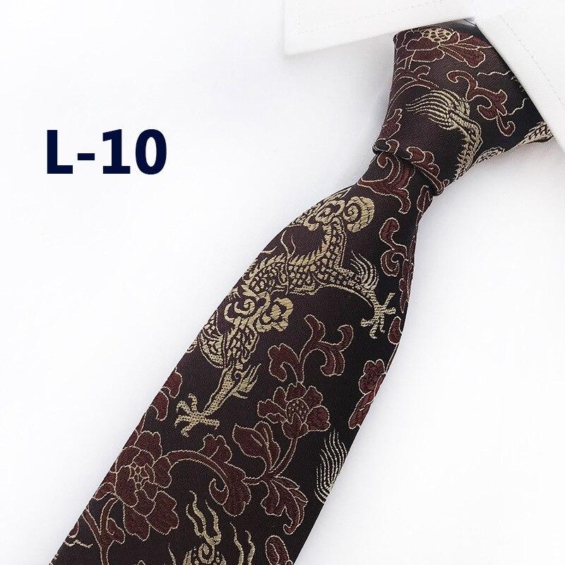 Высококачественные галстуки для мужчин 8 см, жаккардовые свадебные галстуки, тонкие галстуки, мужские галстуки