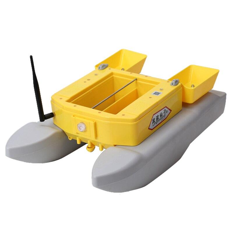 Novo barco de pesca t1688 inventor peixe monitor 4kg carregamento 500m pesca rc barco isca para pesca controle remoto sem fio barco isca