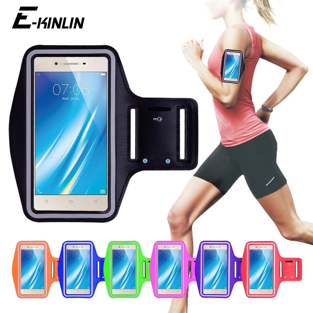 Running Gym Cycling Sport Phone holder Bag Cover For BBK vivo Y37 Y35 Y33 Y25 Y51 Y53i Y53 Y55 Y55s Y65 Y67 Y69 Arm Band Case