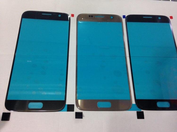 Ekvinor 10pcs Substituição LCD Frontal Touch Screen Lente de Vidro Exterior Para Samsung Galaxy S7 G930 G930A G930F G930T AAA