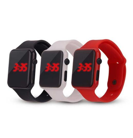 Men Sport Casual LED Watches Men's Digital Clock Man Army Military Silicone Wrist Watch Clock Hodink