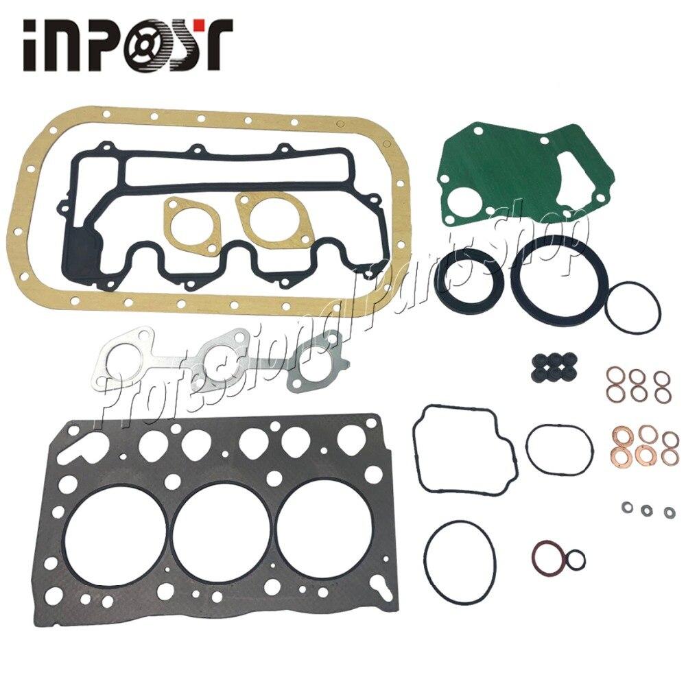 Joint de culasse 3LB1 pour Isuzu   Kit de révision complète de joint de culasse pour moteur Hitachi pelle Hitachi 5-87814206-1 8-97043-933--2