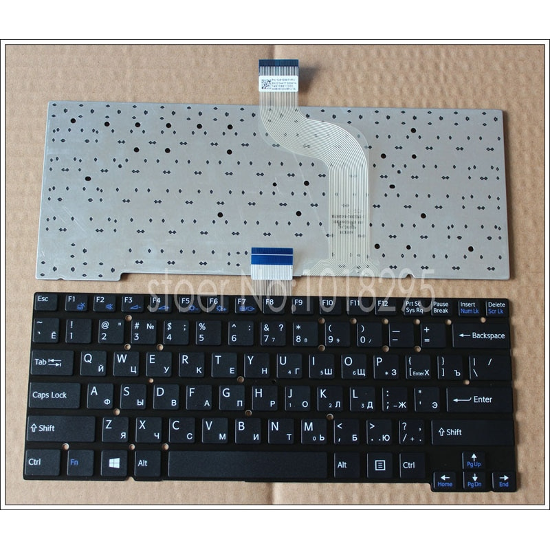 Ruso teclado del ordenador portátil para Sony Vaio SVT141A11L SVT13117 SVT14113CXS SVT13115 SVT14 SVT13125CDS SVT131290S SVT13115FDS.