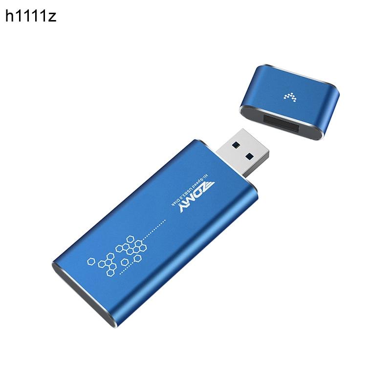 Carcasa M2 SSD USB 3,0 a M.2 NGFF SSD carcasa estado sólido unidad adaptador de cubierta externa UASP SuperSpeed 6Gbps para 2230 2242 M2 SSD