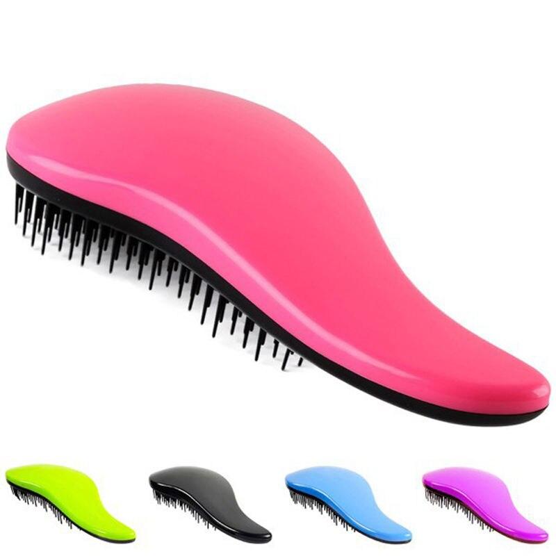 Magic Detangling Comb Handle Tangle Shower Hair Brush Salon Styling Tools