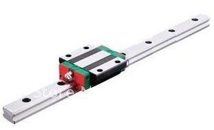 HGR15 L = 500mm riel lineal de guía + 1 piezas HGW15 CA transporte