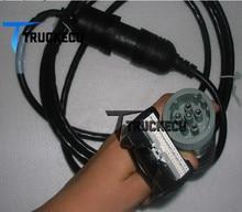 Câble de diagnostic 88890034 9 broches + vcads   Câble à 6 broches pour volvo interface vcads 88890020 scanner de diagnostic 88890034 câble à 9 broches