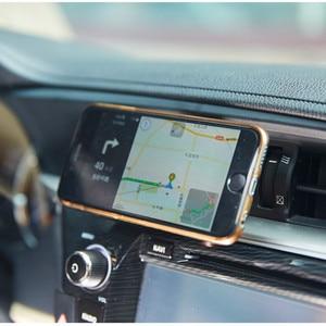Car-styling Car Air Vent Mount Magnetic Car Phone Holder for saab key 9-3 9-5 emblem 93 evening dress 95 900 9000  accessories